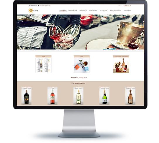 Уеб дизайн и изработване на онлайн магазин, фирмен уеб сайт продуктов каталог
